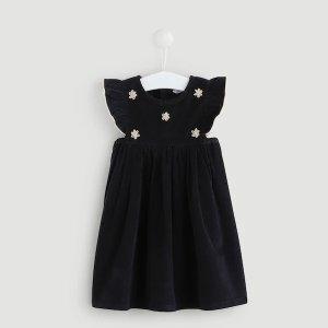 小花连衣裙