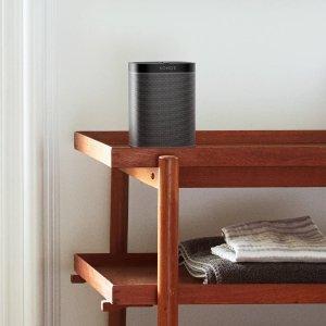 8.3折特价 €189.99听话音箱带回家Sonos One 无线智能音箱 买两个还能组双声道