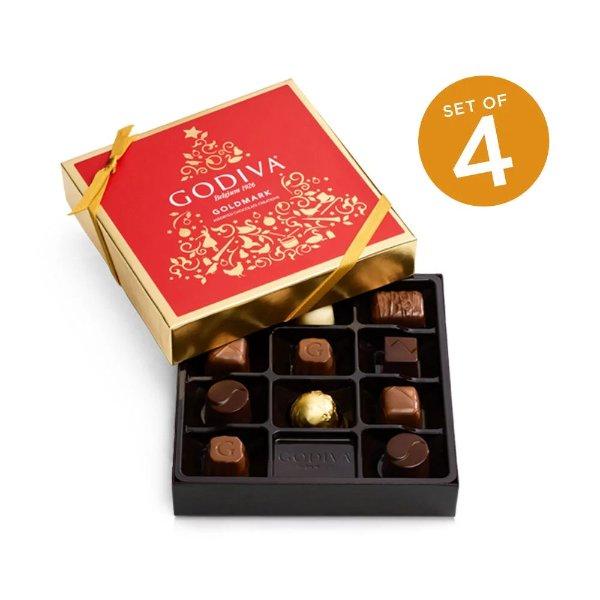 Goldmark什锦巧克力11颗礼盒4件套