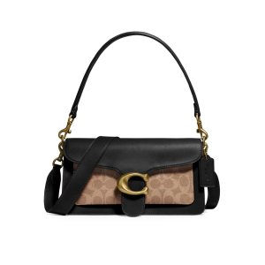 CoachGet $35 GC or Get $75 with $500- Coated Canvas Signature T Baguette Bag
