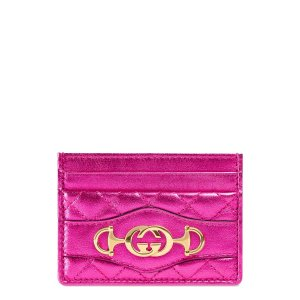 80cddec1015 Gucci 50GC with  250 PurchaseLaminated Leather Card Case
