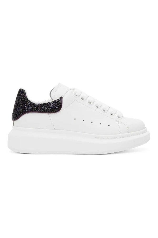 亮片尾小白鞋