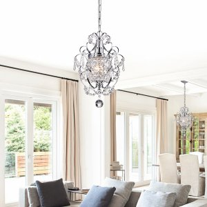Lucille Mini Chandelier - Traditional - Chandeliers - by Edvivi LLC