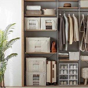5折起 €11收大号收纳箱Amazon 整理箱、收纳箱专场 白菜价给你一个整洁的家