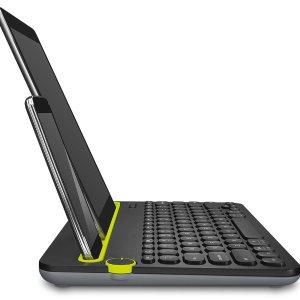 $49.85(原价$69.99)Logitech 罗技 K480 无线键盘 可同时连接3台设备 非常方便