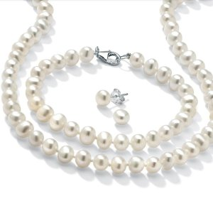 As low as $9.9Walmart Cultured Freshwater Pearl Set