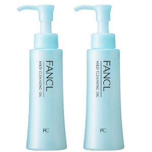 粉丝超推荐 $31.7 / RMB217FANCL 无添加 纳米净化 卸妆油 120ml*2瓶