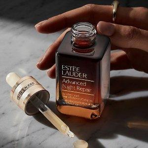 换购价值$550礼包Estee Lauder 美妆护肤热卖 收小棕瓶套装、智妍套装