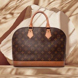 定价优势+部分8折 £225收老花包Louis Vuitton 二手中古包大促 经典老花 高端时尚