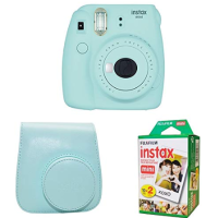 Fujifilm Instax Mini 9 拍立得 + 相机包 + 20张相纸