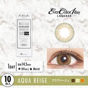 人气微混血EverColor1day Aqua Beige 日抛美瞳10枚