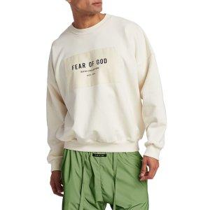 Fear of God- Logo Patch Crewneck Sweatshirt