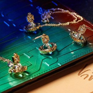 无门槛8折Swarovski、VivienneWestwood、Pandora精选饰品热卖