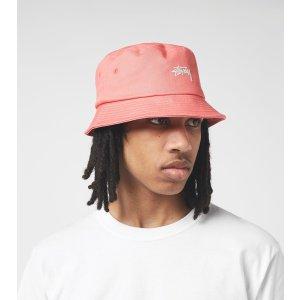 Stussy粉色渔夫帽