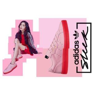 AdidasSleek 平底鞋(杨幂同款)