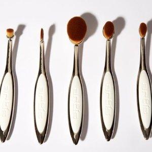 8折 化妆刷界爱马仕Artis Brush Elite Smoke系列化妆刷热卖 天鹅绒般柔软