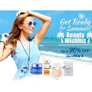 低至1折!香港莎莎官网 Sasa.com 精选夏季护肤品、化妆品热卖