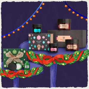 无门槛8折 $16收茶树精华套装闪购:The body shop 护肤、身体护理圣诞好折来袭