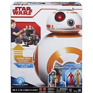 $24.48Star Wars Force Link BB-8 2-in-1 Mega Playset including Force Link @ Amazon