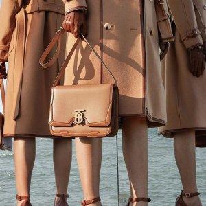 低至6折 TB盒子包$999 Kensington风衣$1300+Burberry 精选美包、美鞋、美衣专场热卖
