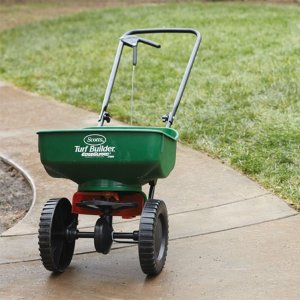 $25Scotts Turf Builder EdgeGuard Mini Broadcast Spreader