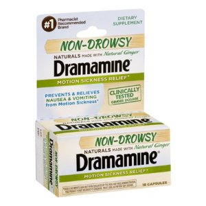 $4.55Dramamine Non-Drowsy Naturals with Natural Ginger, 18 Count