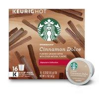 Starbucks 肉桂焦糖口味咖啡 k-cup 16粒装