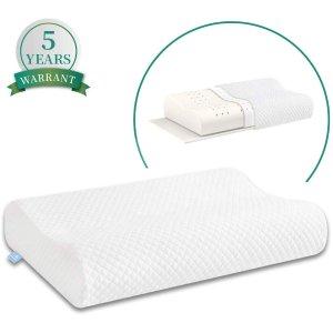 AM AEROMAX Ergonomic Memory Foam Pillow