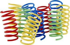 Frisco Colorful Springs Cat Toy, 10-pack - Chewy.com