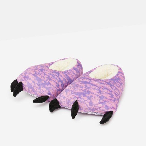 儿童爪子保暖室内鞋