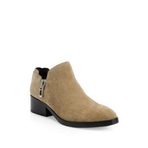 Alexa Zipped踝靴