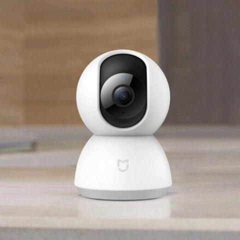 8.5折 仅€33.92 亚马逊精选小米 智能360°监控摄像头热卖 1080P高清 双向语音可夜视