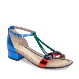 acf360aa03 Nordstrom offers up to 50% off Gucci Kids Sale. Free shipping. GucciBee &  Cherry Sandal