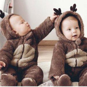 低至5折+额外8.5折独家:PatPat儿童秋冬季服饰热卖 可爱又保暖