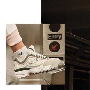 变相6.7折Fila 精选老爹鞋热卖 增高长腿神器