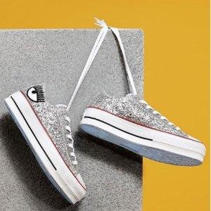 8.5折再来+免邮Converse x Chiara Ferragni 宇博合作款帆布鞋热卖