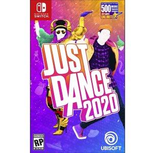 $49.99 有Jolin蔡依林的歌哦Switch 《Just Dance 2020》群魔乱舞的火爆游戏又来啦