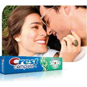 $6.54(原价$12.12)Crest 全效超白清新牙膏 130g x 3支超值装