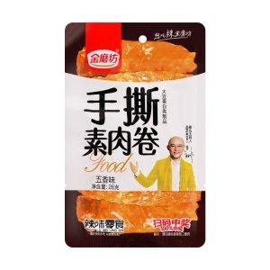 JINMOFANG Vegetarian Meat Roll Snack Five Spice Flavor 26g