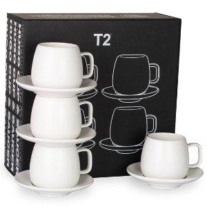 T2 tea纯白茶杯套装4件套 - T2 APAC |AU