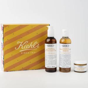 买2送1 折后仅$98最后一天:Kiehl's 金盏花护肤3件套 敏感肌、痘肌福音