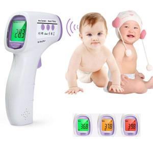 $20.79 (原价$26.99)闪购:INLIFE 非接触式红外数字体温计/温度计 家庭必备