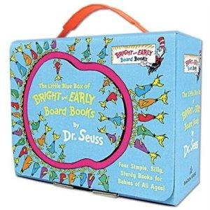 $14.69(原价$24.49)Dr. Seuss 幼儿启蒙绘本 小蓝提箱套装4件套热卖