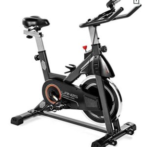 Lanos Exercise Bike, Stationary Bike for Indoor Cycling | The Perfect Exercise Bikes for Home Gym | Indoor Exercise Bike for Men and Women