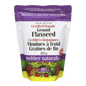 $6.63(原价$7.97)Webber Naturals 伟博天然有机亚麻籽粉