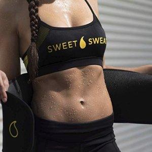 $16.13(原价$34)+免邮史低价:Sweet Sweat 燃脂减脂收腹纤腰爆汗腰带,销量冠军
