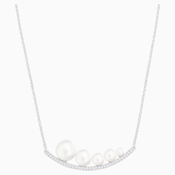 Fundamental 珍珠水晶项链