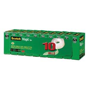 $15Scotch Magic™ 810 Invisible Tape, 3/4