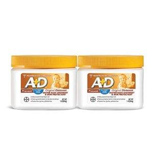 立减$4  $16.84收两大瓶折扣升级:A+D 婴幼儿尿布疹护臀膏,1磅*2超大容量