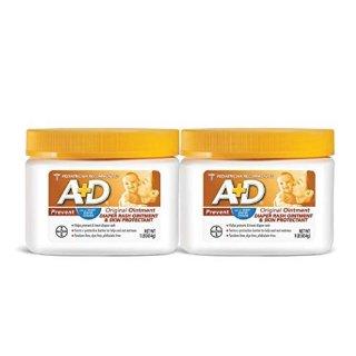 立减$3 新史低价$15.99收两大瓶A+D 婴幼儿尿布疹护臀膏,1磅*2超大容量